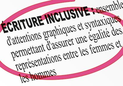 écriture inclusive, définition