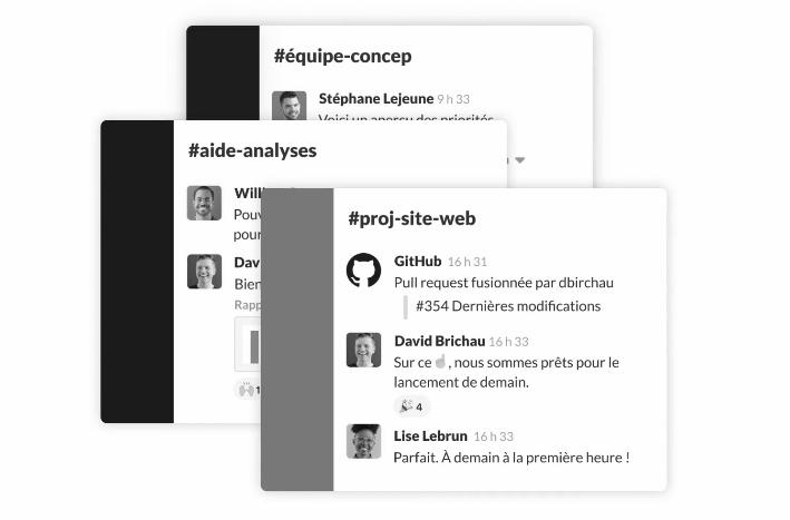outils de communication, Slack