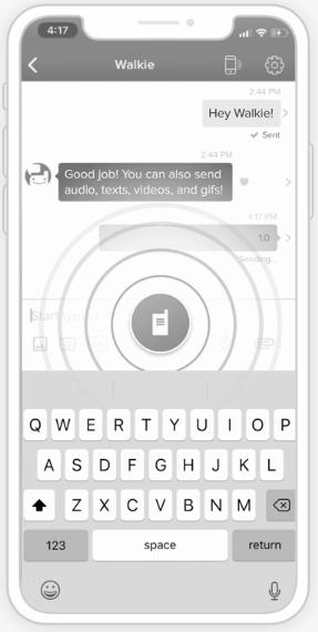 outils de communication, Voxer